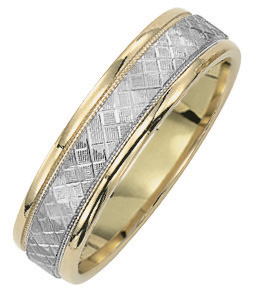 Matching Wedding Band Comfortable Fit 6mm
