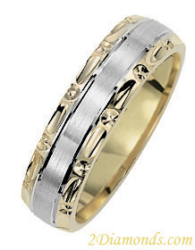 Matching Wedding Band Comfortable Fit 5.5mm
